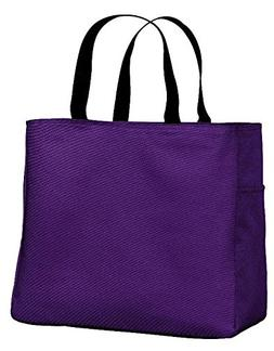PACK of 3 Improved Polyester Durable Essential Tote Bags - D