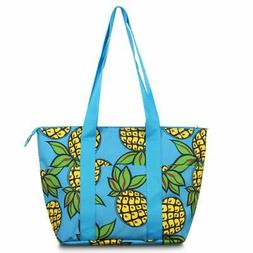 Insulated Large Lunch Bag Women Tote Cooler Picnic Travel Fo