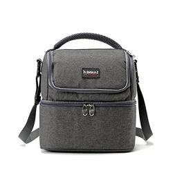 VIFINE Insulated Lunch Box, Lunch Tote Bag for Women and Men
