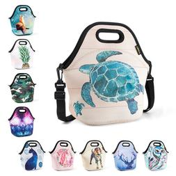 Thermal Neoprene Insulated Lunch Bags for Women Kids Office