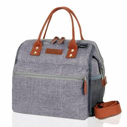 Insulated Lunch Bags for Women, Reusable Lunch Box Large Tot