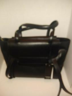 Alessandro Mari Italian Leather Tote Bag Satchel Womens Shou