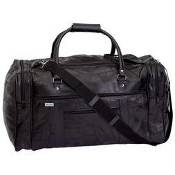 Embassy Italian Stone Design Genuine Leather Tote Bag