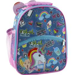 Jojo Siwa Unicorn School Insulated Lunch Box Soft Tote Bag f