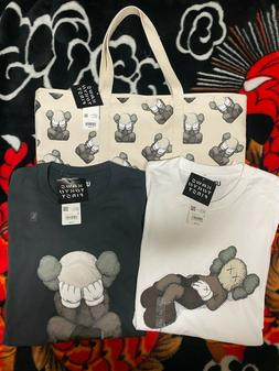Kaws Tokyo First UT Uniqlo Japan Shirts Sizes S-XXL & Tote B