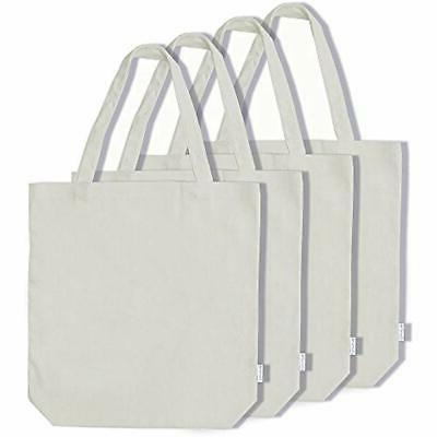100 percent reusable grocery bags cotton canvas