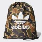 1805 adidas CAMOUFLAGE GYM SACK Men's Tote Bag CD6099