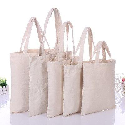 1PC High-Quality Handbags Canvas <font><b>Tote</b></font> Reusable capacity Shopping