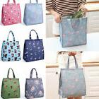 1pc Insulated Lunch Box Bag Thermal Flamingo Tote Picnic Fru
