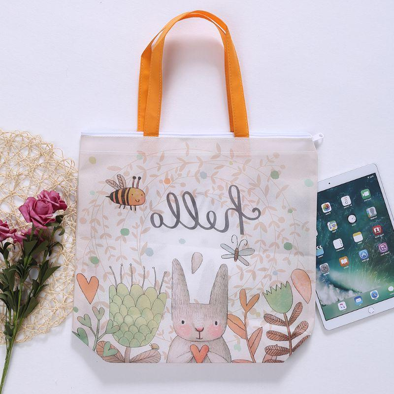 2019 Cartoon Gift <font><b>Duty</b></font> Shopping <font><b>Bags</b></font> 12 x