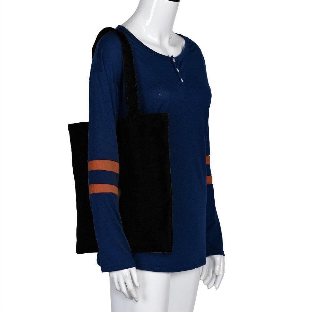 2019 Handbags Canvas <font><b>Tote</b></font> Shopping Travel Women Reusable Shoulder bolsas de tela