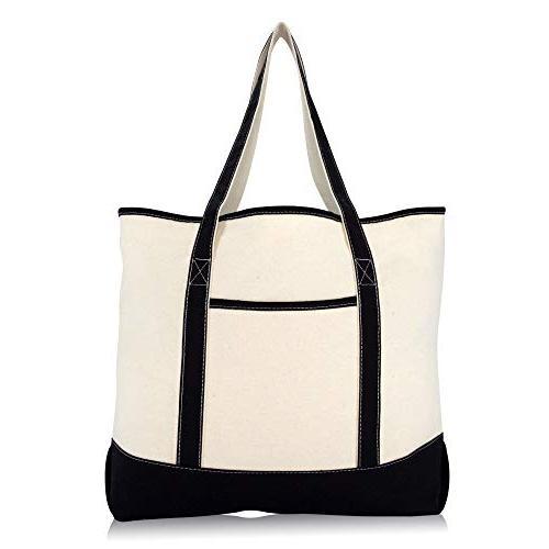 "22"" Shopping Grocery Bag Black"
