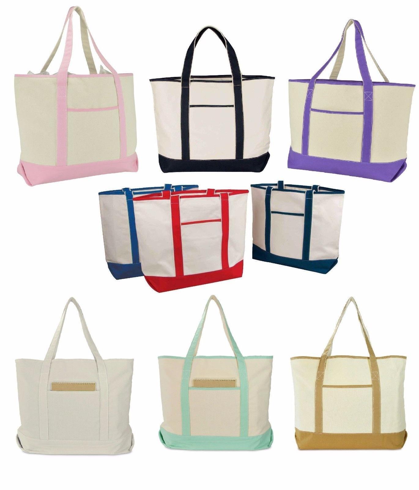 22 canvas tote bag beach shopping w