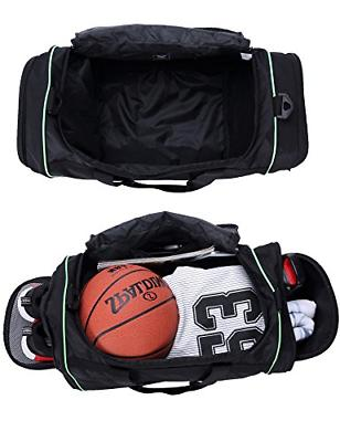 MIER 24Inch Sports Bag Shoe Black