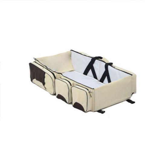 Foldable in 1 Diaper Bassinet Baby Bed