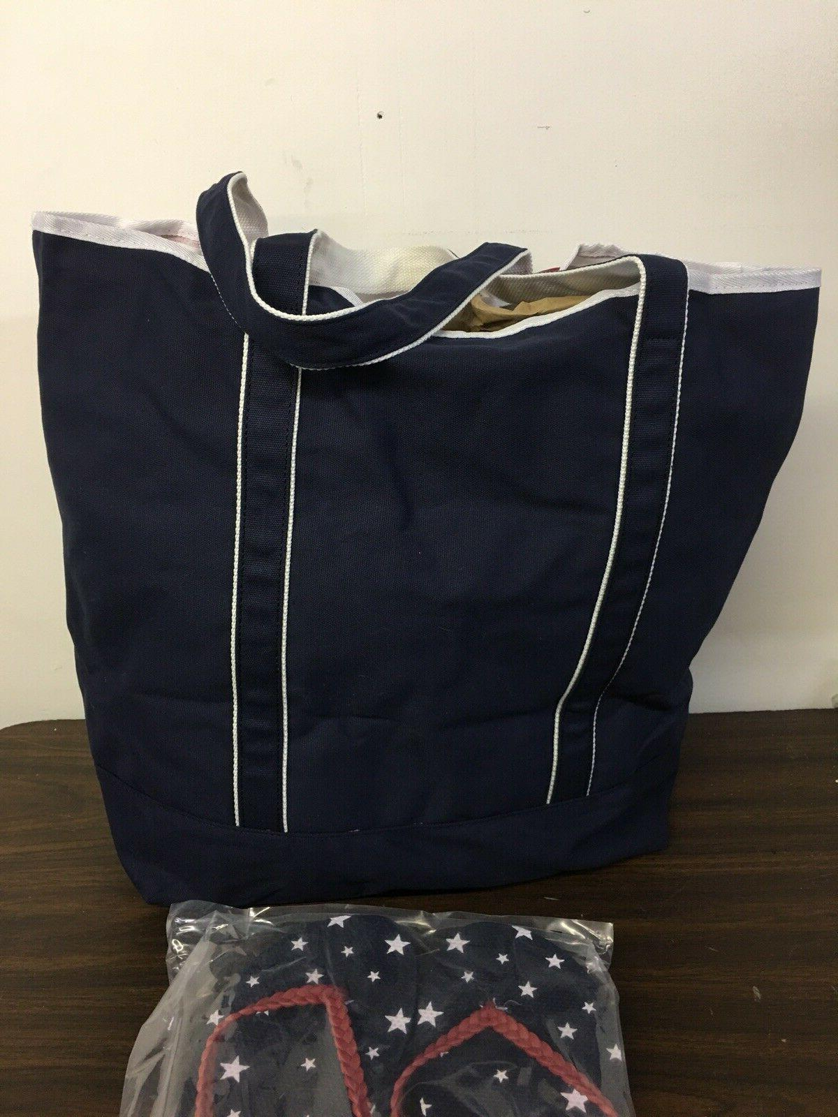 $49 Bag & Sz Flip Flop Stars & Stripes Beach
