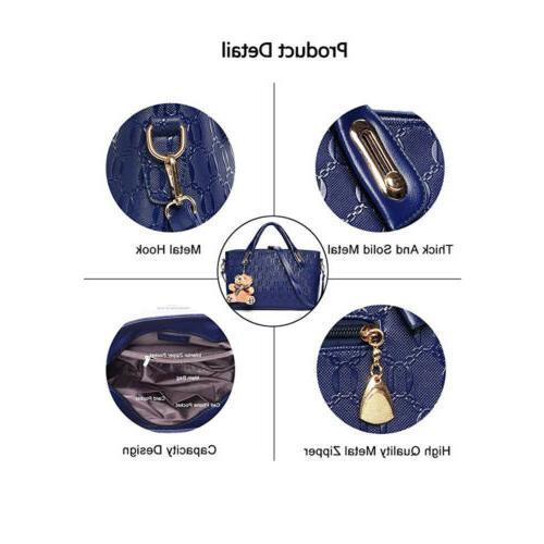 5Pcs/Set Handbags Messenger Tote