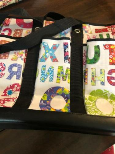 Scout 6 Tote Bag Teacher Bag!!! Alphabet