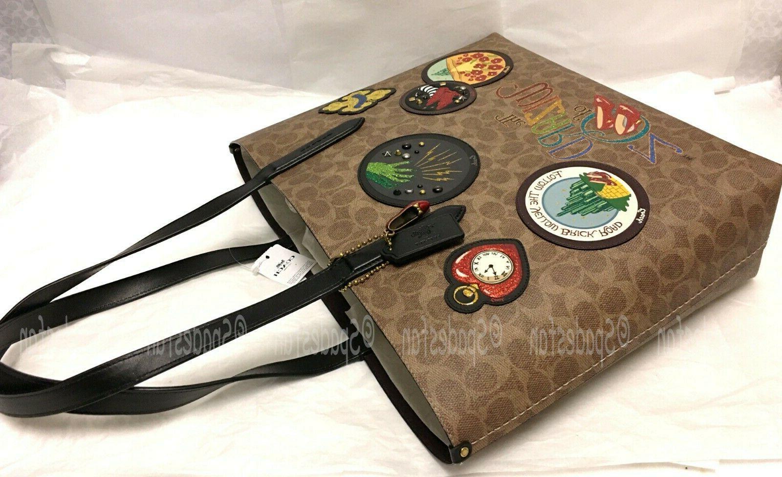 Coach of Oz Signature Bag TAN Patches