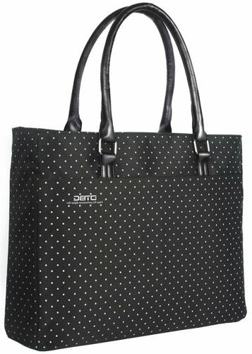 Laptop Tote Bag 15.6 Inch Women Shoulder Bag Nylon Briefcase