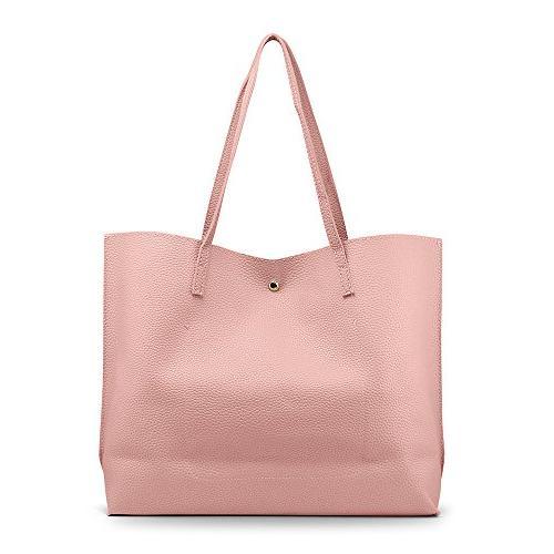 OCT17 Women Large Bag - Leather Shoulder Ladies Purses Satchel Messenger Bags -