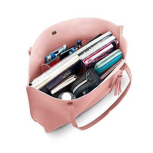 OCT17 Tote Bag - Ladies Purses Satchel Messenger Bags - Pink