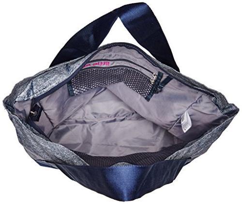 adidas Squad Tote Bag, Onix Magenta/Frozen Yellow,