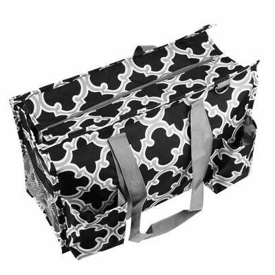 All Purpose Travel Laundry Shopping Utility Bag Black