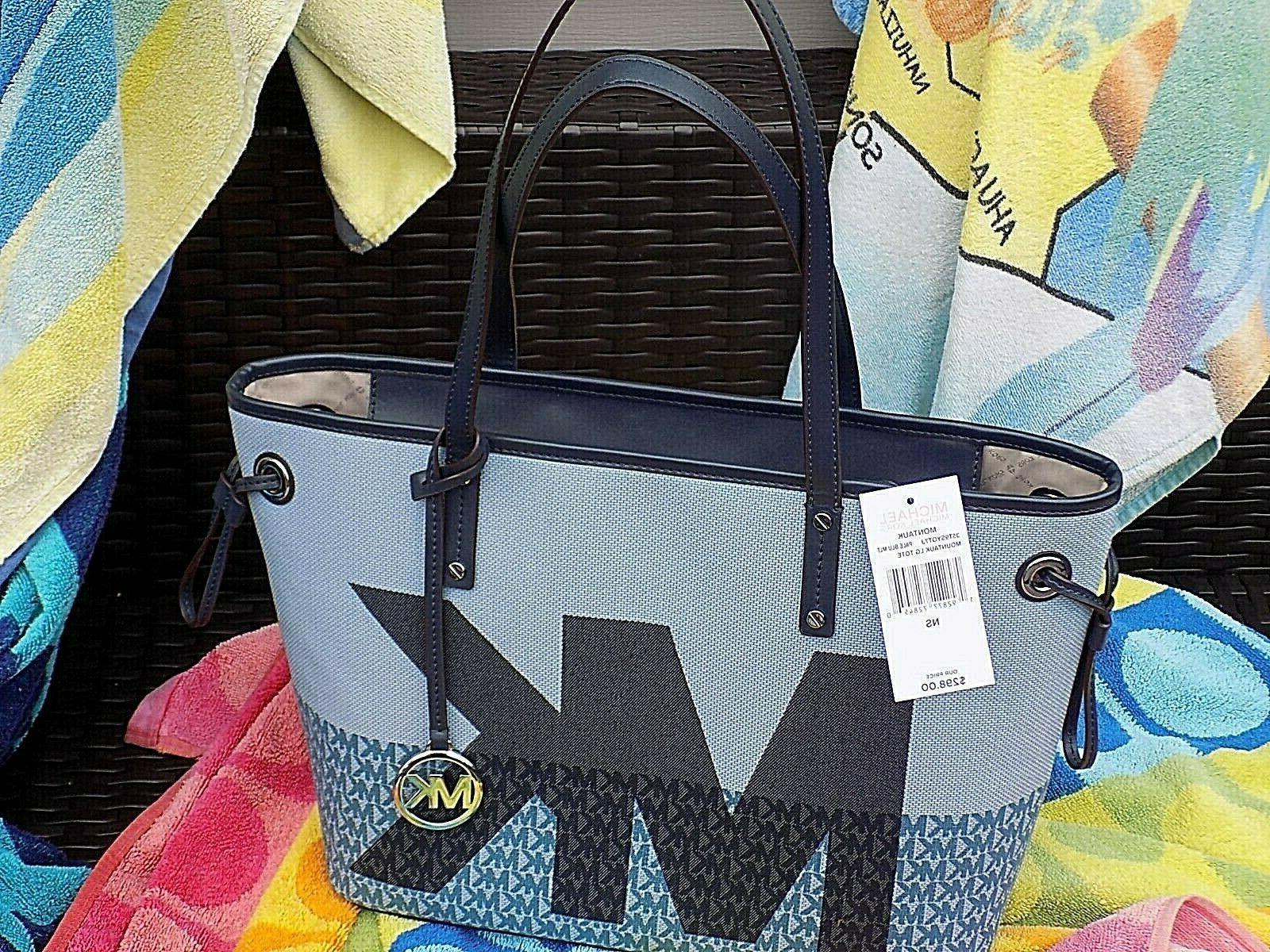 Authentic Large bag Beach Ready MK NWT.