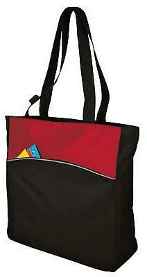 B1510 Port & Company Improved Two-Tone Colorblock Adult Tote