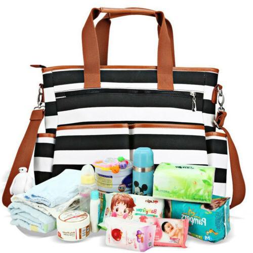Hot Handbag Shoulder Bags Baby Mummy Bag Diaper Pad Travel N