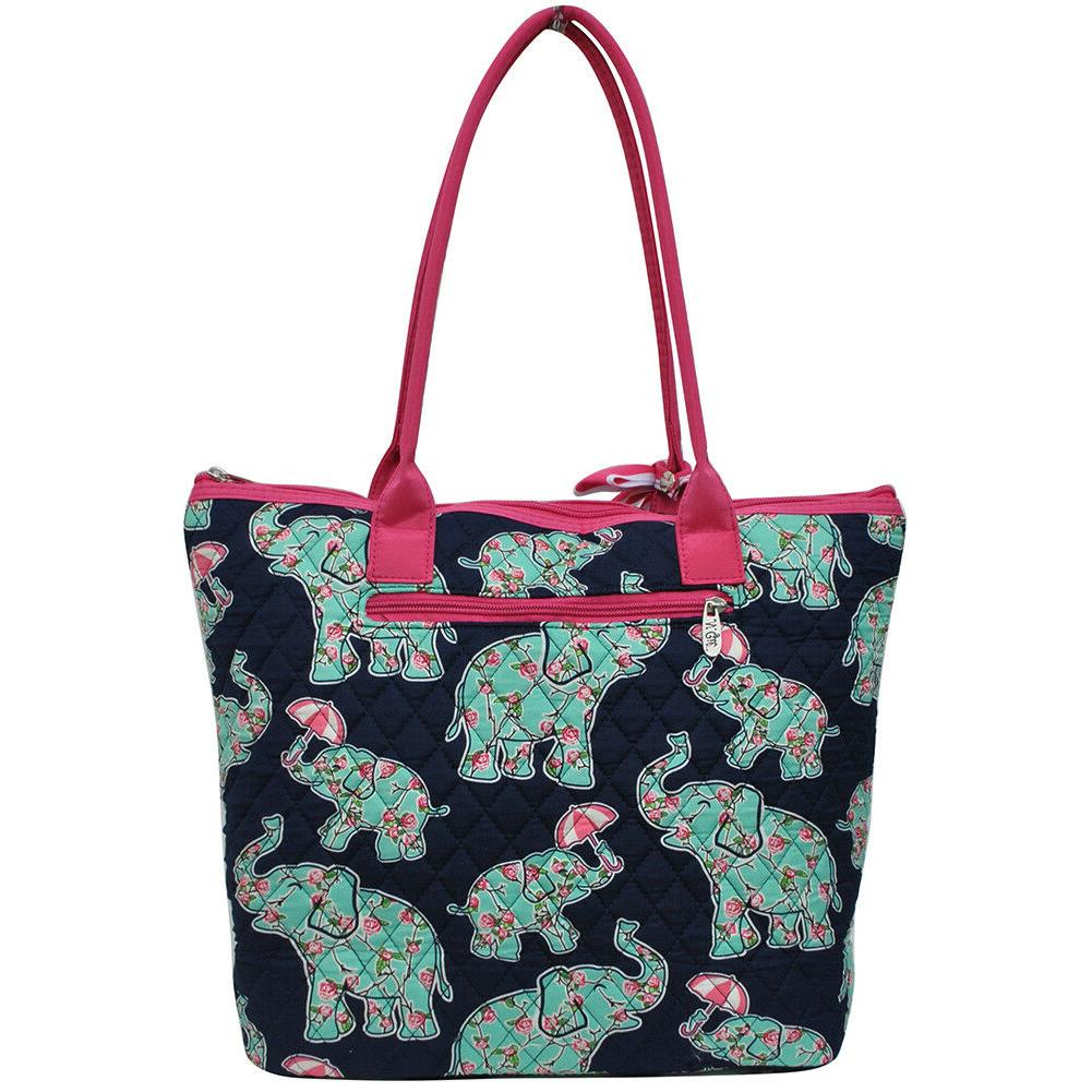 Baby Elephant NGIL® Quilted Tote Bag