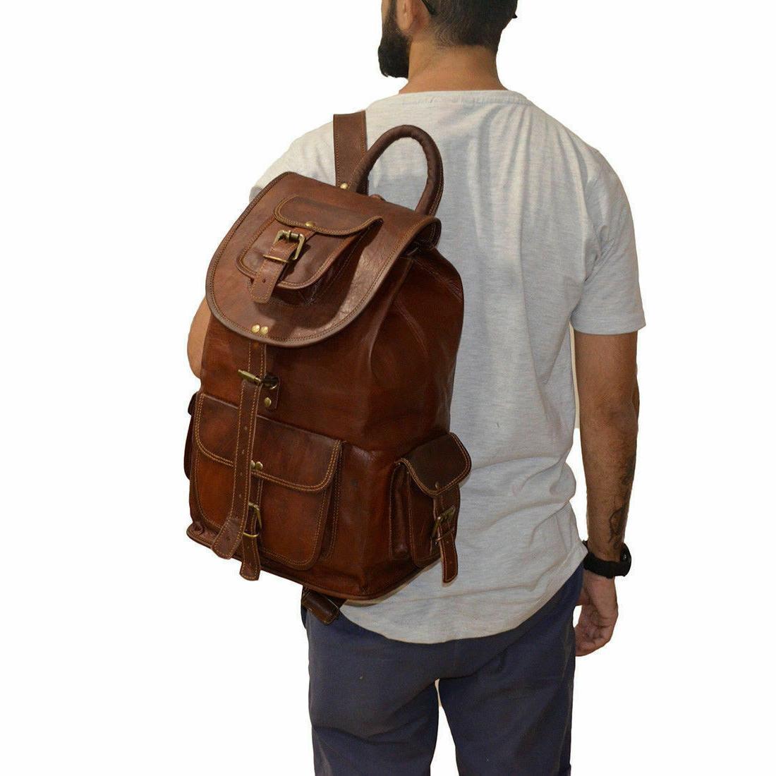 Backpack Genuine Vintage Bag Travel