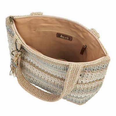 The Sak Amberly Hand Crochet Top Tote Bag