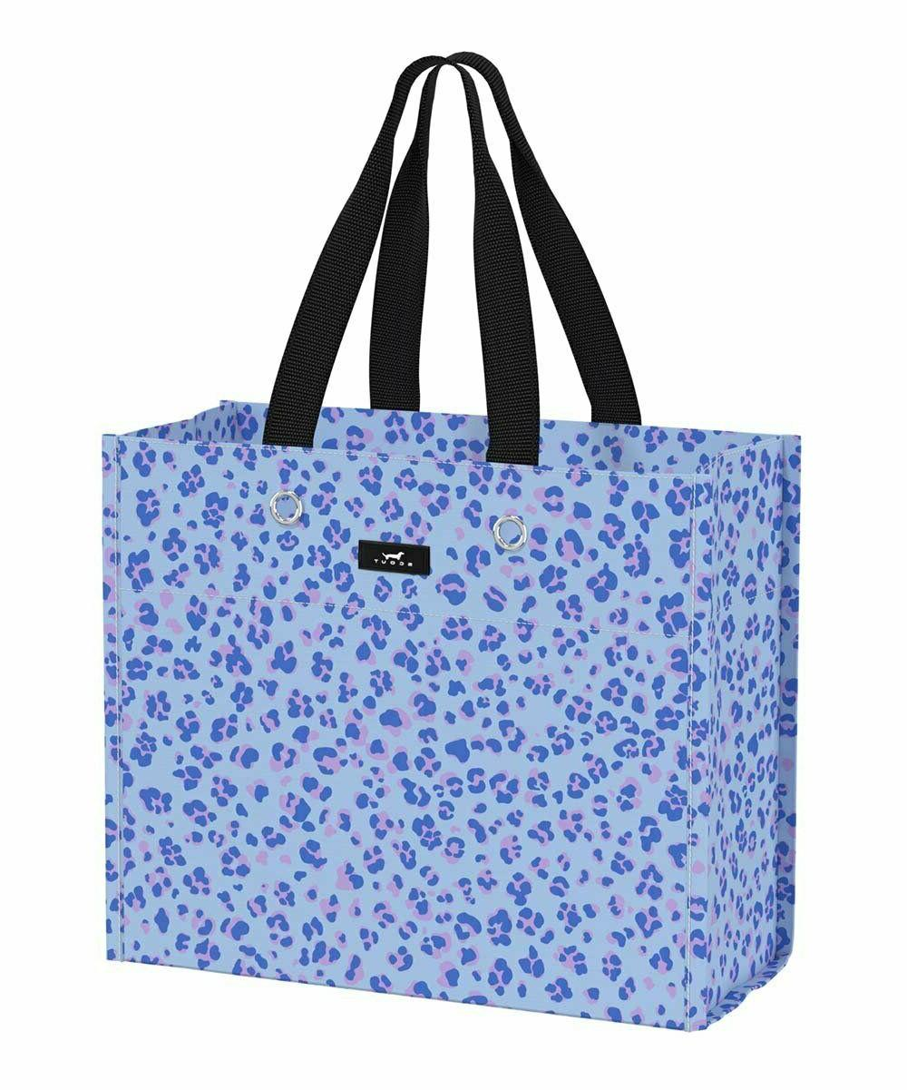 blue paws large package tote bag nwt
