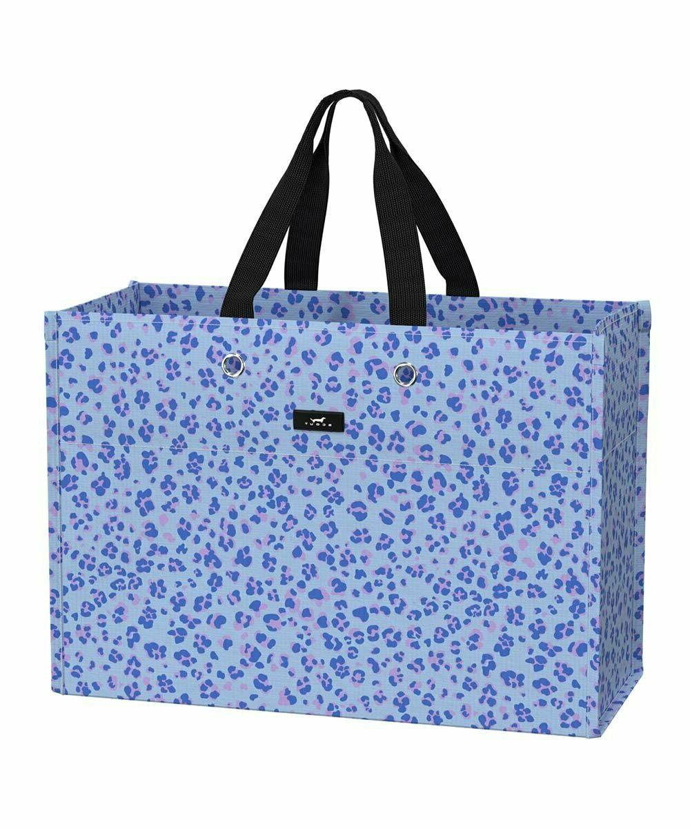 blue paws x large package tote bag