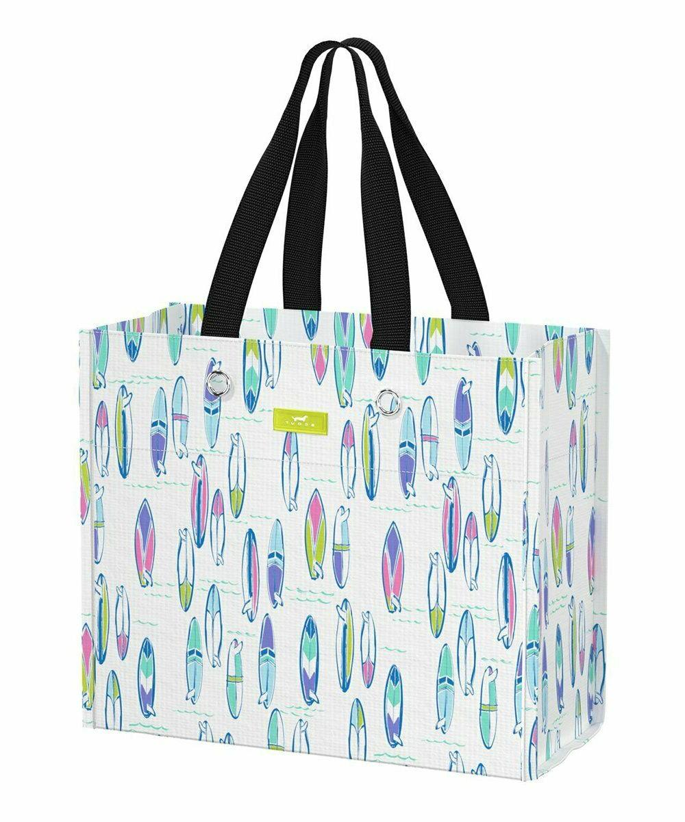 blue pipedream large package reusable tote bag