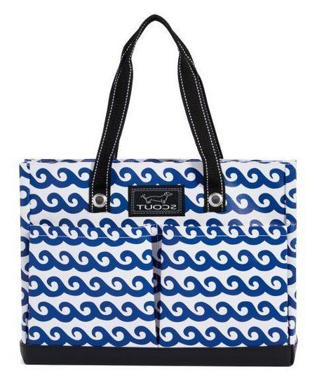 brand uptown girl pocket tote bag channel