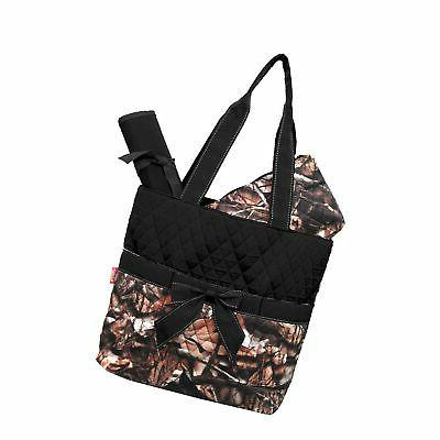 camo quilted diaper bag