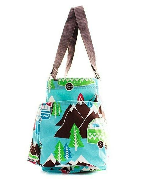 Camper NGIL Zippered canvas purse Tote