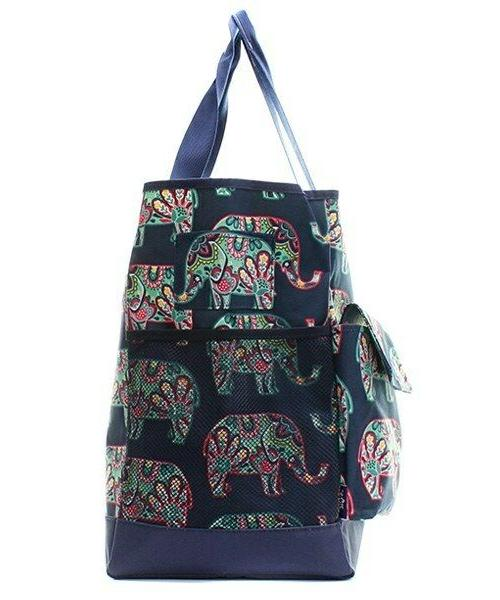Canvas Elephant NGIL Zippered Caddy Organizer Bag NEW