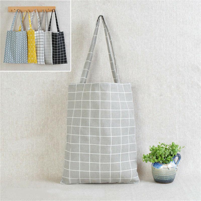 Canvas Handbag Tote Bag Square Star bags