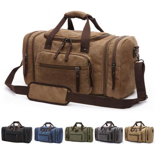 canvas travel tote luggage large men s