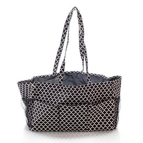 car utility tote bag xl big zip