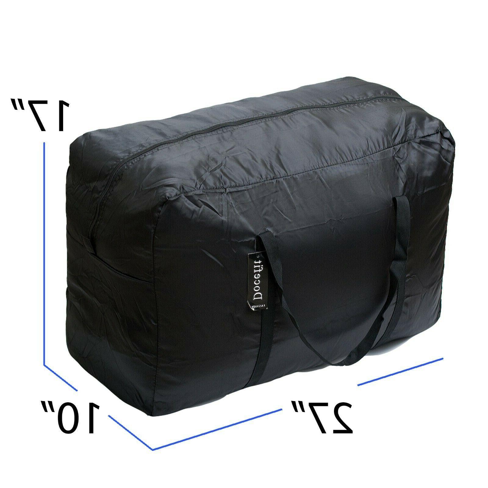 Cargo Duffle Tote de Ligero Lb Black