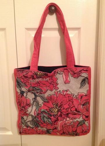 casual women floral large capacity tote shoulder