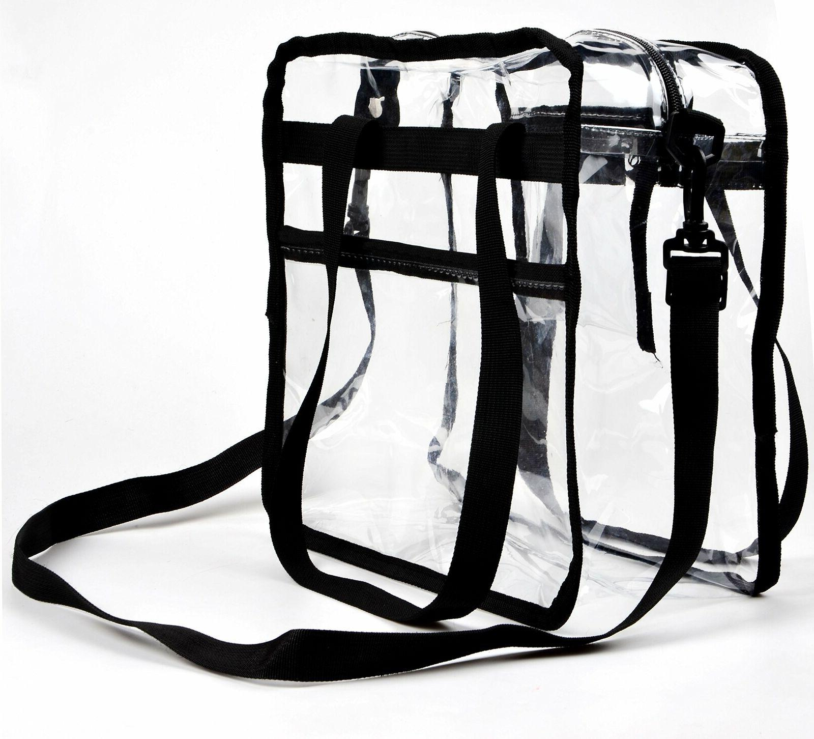 Clear Heavy Duty Tote For School Up 50lbs