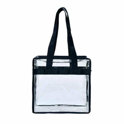 Clear Plastic Tote Women Purse Security