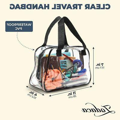 Clear Stadium Tote Bag, Transparent for Concert