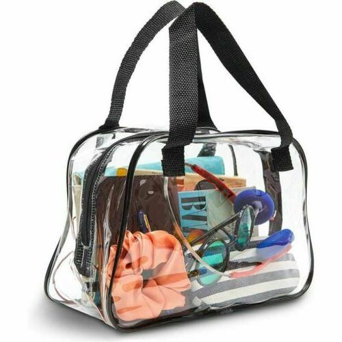 clear stadium approved tote bag transparent small